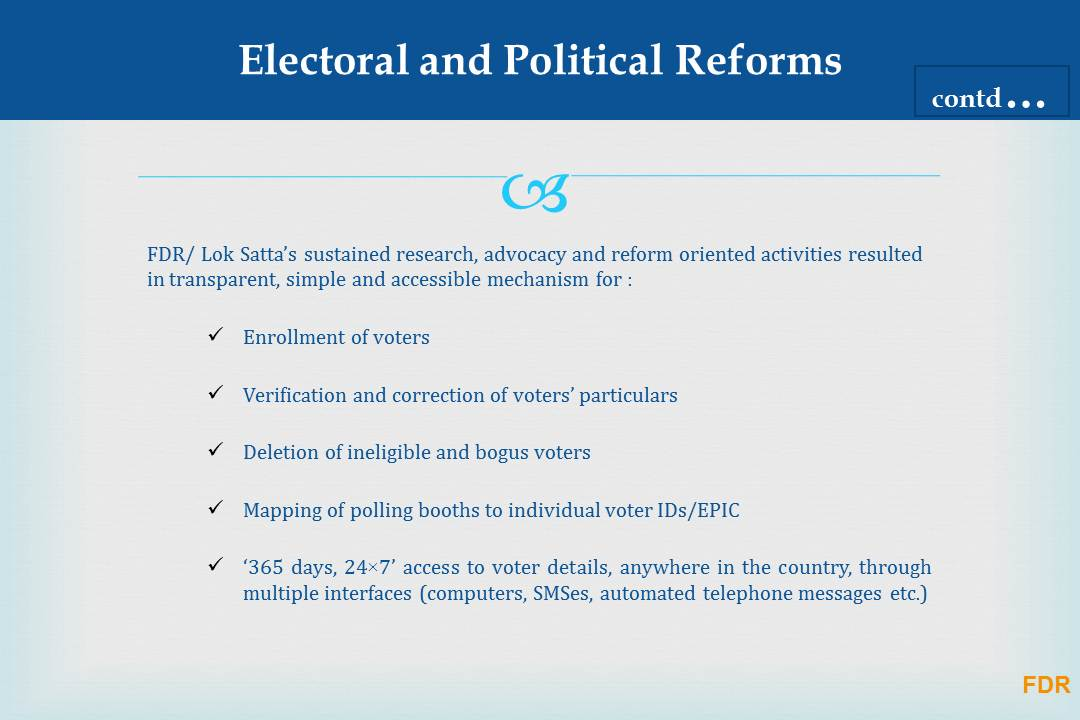 democratic reforms in us So you want to reform democracy  if only the american public had more  information they could head-off  then they have to vote with us.