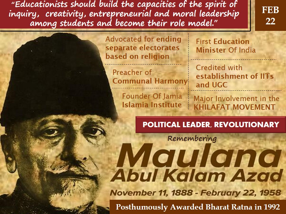 Infograph-On-Maulana-Abul-Kalam-Azad-22-feb-2017